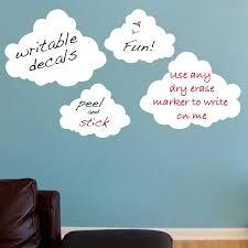 Cloud Dry Erase Decals Dry Erase Wall Decal Murals Primedecals