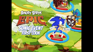 First Look at Angry Birds Epic Sonic Dash Event - iPad, iOS ...