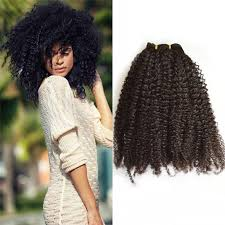 brazilian afro curly remy hair