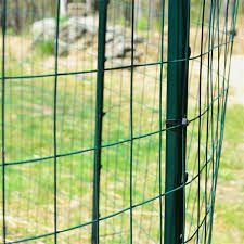 Garden Zone 50 Ft X 36 In Green Pvc Coated Steel Welded Wire Rolled Fencing Lowe S Canada