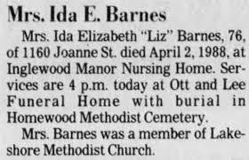 Ida Barnes - Newspapers.com