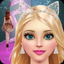 supermodel salon makeup dress up
