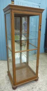 large victorian display cabinet