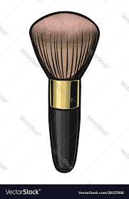blush brush professional cosmetic tool
