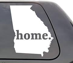 Amazon Com Georgia Decal Georgia Ga Decal Home State Decal State Decal Car Decals Yeti Decal Laptop Decal State Love Window Decal Vinyl Wall Window Door Car Truck Home Kitchen