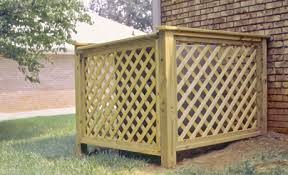 Disguise Your Ac With A Diy Louvered Screen The Kim Six Fix