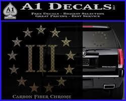 Three Percenter Cr Decal Sticker Percent 3 A1 Decals