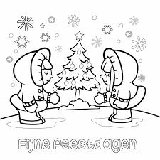 Kerst Inkleurkaart Met Eskimo Kaartje2go