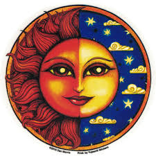 Celestial Twilight Window Sticker Decal Peace Resource Project