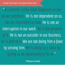 customer service quotes every business should live by