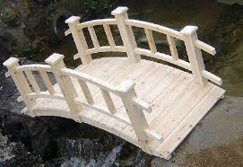 small handmade bridge garden bridge