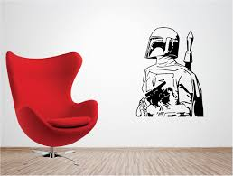Starwars Boba Fett Vinyl Wall Art Quote Sticker C3po Droids Jedi Star Wars Ebay