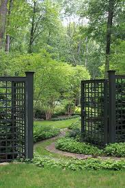 55 Awesome Garden Fence And Gates Design Ideas Garden Entrance Garden Gates Fencing Garden Fencing