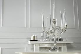 round table with chandelier