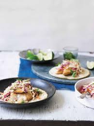 Fish Tacos Recipe Creamy Cabbage Slaw ...