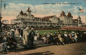 brighton beach hotel new york postcard