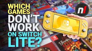 don t work on nintendo switch lite