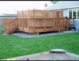 Corner Privacy Cedar Deck Deck Plans Diy Pergola Outdoor Living