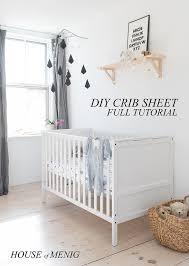 diy baby crib sheet full tutorial