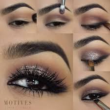 eye makeup tutorial for black dress