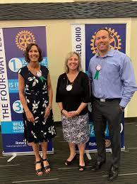 Welcome new Rotarians Tracy and Adam. - Springfield Rotary Club - Ohio |  Facebook