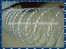 With Clip Razor Barbed Wire Concertina Razor Wire Fence Price Buy Razor Wire Fence Stainless Steel Razor Wire Fence Galvanized Razor Fence High Quality Product On Alibaba Com