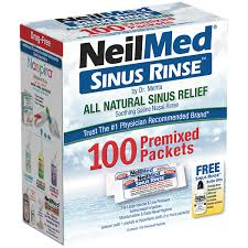 sinus rinse 100 regular mixture packets