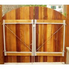 Adjust A Gate Original Series 60 In 96 In Wide Gate Opening Steel Gate Frame Kit Ag60 36 The Home Depot Adjust A Gate Wood Fence Steel Gate