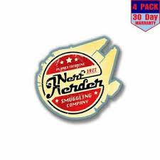 Star Wars Nerf Herder 4 Stickers 4x4 Inch Sticker Decal Ebay