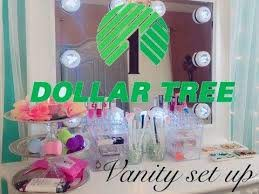 dollar tree diy makeup organizer