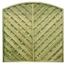 Fence Panel Madrid 6ft X 6ft 1 8mt X 1 8mt