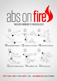 abs workout for men at home without