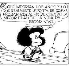 Mafalda, encantadora e irreverente, festeja a lo grande su aniversario
