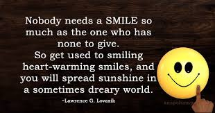 always keep smiling quotes