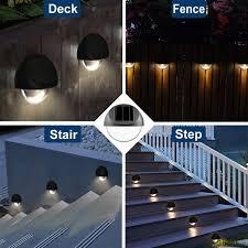 Westinghouse Solar Lighting Intelligent Solar Powered Led Fence Post Cap Pack Reviews Wayfair