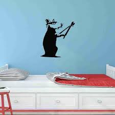 Rat Burglar Banksy Wall Decal Style And Apply