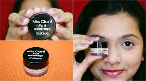 miss claire full coverage makeup