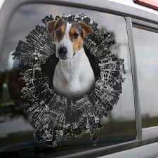 Dog Jack Russell Terrier Vinyl Decal Your Favorite Pet Decal Etsy