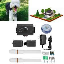 Safe Waterproof Underground Wireless Pet Control Dog Training Shock Collars Electric Fence System Lazada Ph