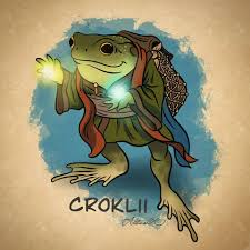 Meet Croklii, a very small old lady of... - Adeline Robinson Art ...