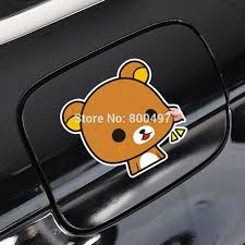 Newest Car Styling Car Covers Cartoon Bear Rilakkuma Car Stickers Car Decals For Toyota Chevrolet Volkswagen Tesla Kia Ford Lada Car Decal For Toyotasticker Car Aliexpress