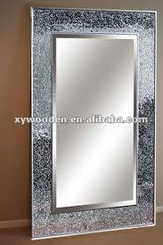 glass mosaic frame mirror hanging