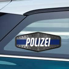Polizei Police Cop Sticker Decal 3x7 5 Inc Ebay