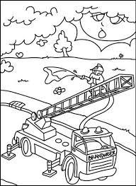 Kids N Fun 28 Kleurplaten Van Brandweer