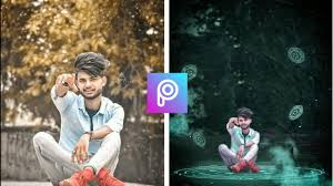 how to picsart background photo editing
