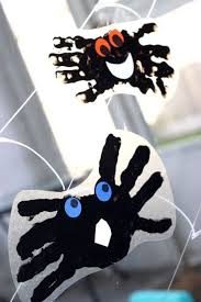 Spider Handprint Window Cling For Kids That S Not So Spooky