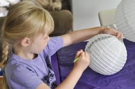 Homemade Paper Lanterns For Kid S Bedroom Decor Darice
