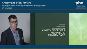 Anxiety Disorders and PTSD in Primary Care Dr Adrian Keller - Armchair  Medical TV