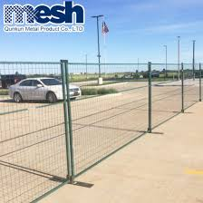 China Canada Temporary Fence And Portable Construction Security Fence Panel Hot Sale China Canada Style Temporary Fence Powder Coated Canada Temporary Fence