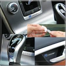 Car Styling R Design Logo Metal Emblem Door Inner Wrist Sticker Car Door Window Decal 3d Car Badge Sticker For Volvo Xc60 S60 V60 V40 S80 Wish